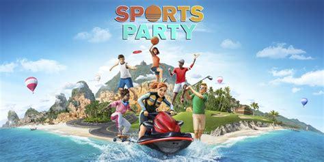 sports party nintendo switch games nintendo