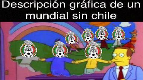los memes de chile casi eliminado y conmebol