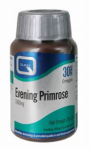 Evening Primrose Oil 1000mg 30 U0026 39 S  The Natural Dispensary
