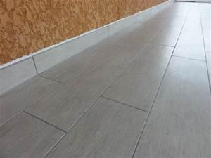 Pose De Plinthe Carrelage : le carrelage de la veranda le blog de ludo et val rie ~ Melissatoandfro.com Idées de Décoration