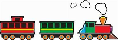 Train Cartoon Clipart Cliparts Way Clip Steam