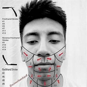 Barber Shave Diagram