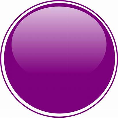 Clipart Purple Button Oval Glossy Transparent Clip