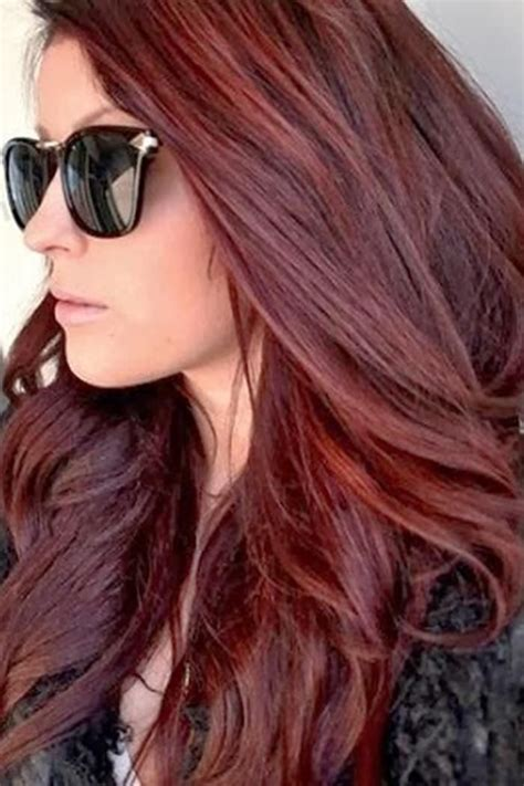 Dark Brown Red Hair Color 2014 Sheila Pinterest Hair