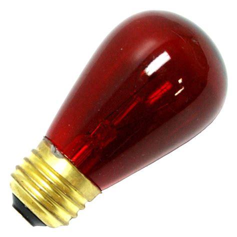 colored light bulbs bulbrite 701711 11s14tr standard base colored