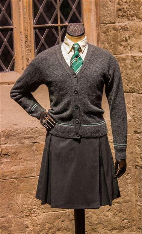 A girlu0026#39;s Slytherin school uniform. | Perhaps in Slytherin | Pinterest | Looking forward ...