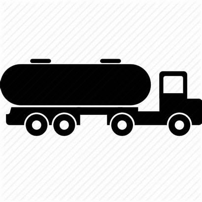 Tanker Truck Oil Clipart Fuel Icon Tank