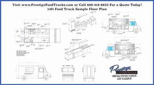 Custom Food Truck Floor Plan Samples - Custom Food Truck ...