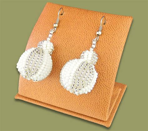 Bobble Earrings earrings bobble bobble earrings silver white