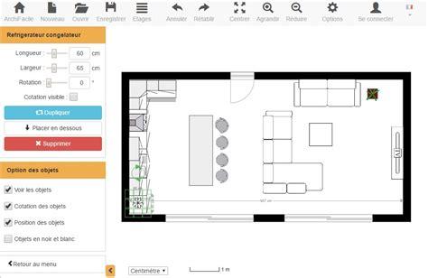 faire un plan de cuisine en 3d gratuit plan de cuisine gratuit logiciel archifacile