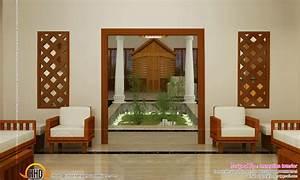 Beautiful, Home, Interiors, -, Kerala, Home, Design, And, Floor, Plans