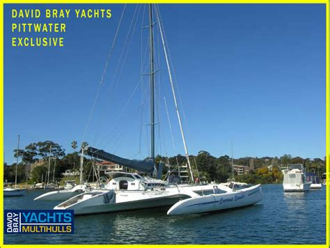 Trimaran For Sale by Crowther 43 Boats For Sale On Boat Deck