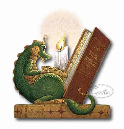 Dragon Reading Books Readers Animated Tales Authors
