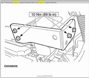 Service Manual  1989 Ford Taurus Transmission Diagram For A Removal