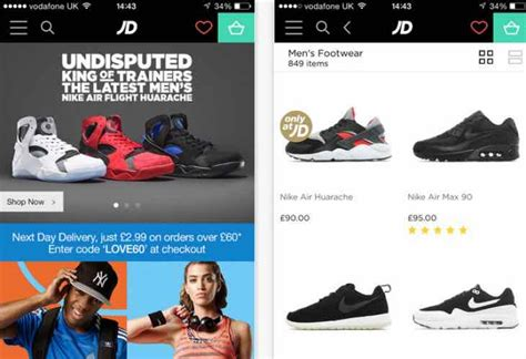 jd sports app prepares  manchester united kit