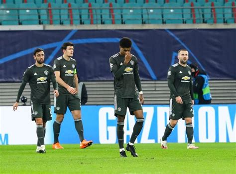 Man Utd crash out of the Champions League after 3-2 RB ...