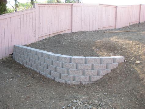 block retaining wall retaining wall