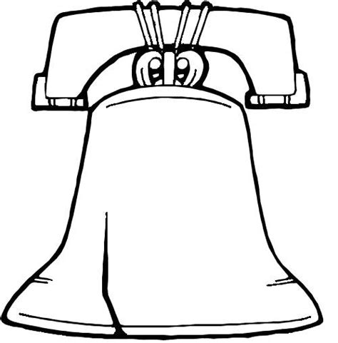 Liberty Bell Coloring Page Printable by Liberty Bell Coloring Pages For Coloring