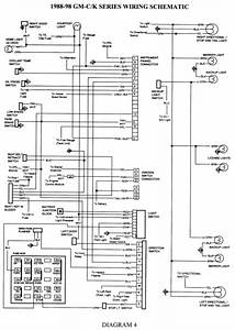 1998 Chevy Silverado Headlight Wiring Diagram