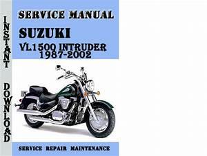 Suzuki Vl1500 Intruder 1987
