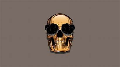 Skull Minimalism Wallpapers Desktop Background Px Backgrounds
