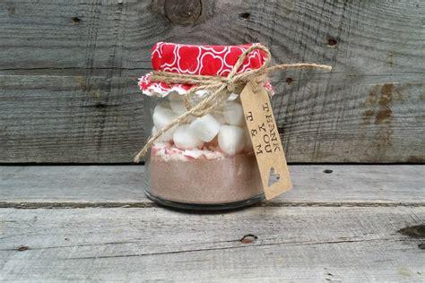 Hot Chocolate Mason Jar Wedding Favor Hot Chocolate Wedding