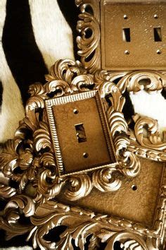 gold light switch covers gold baroque light switch plates fancy segelquistdesign 3856