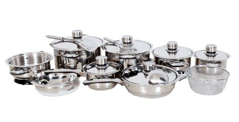mafy cookware piece stainless steel thermostat capsuled layer pot bottom