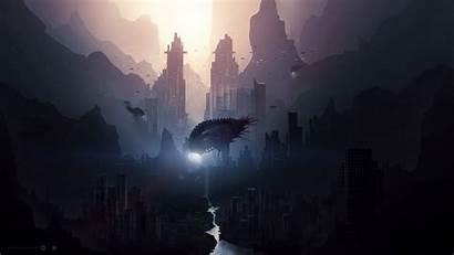 Fantasy Futuristic Concept Spaceship Artwork Wallpapers Px