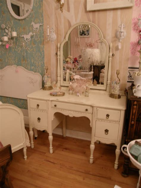 shabby chic vanity antique vanity shabby chic make up dressing table ivory