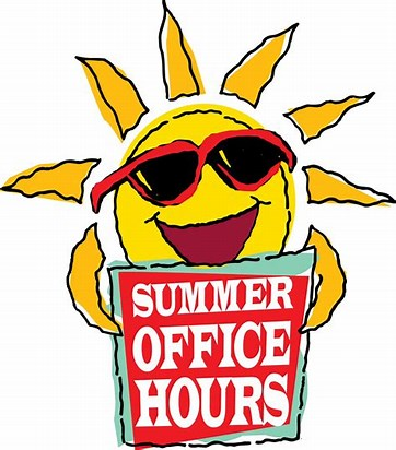 Image result for summer office hours