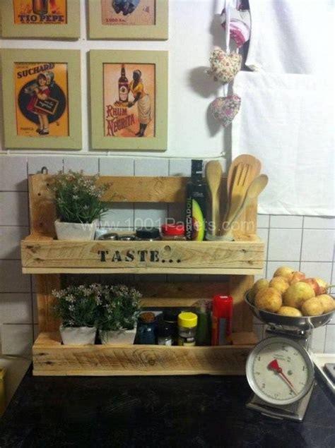 ideas originales  reusar palets en la cocina
