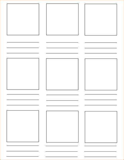 storyboard template pdf 6 storyboard template pdf authorizationletters org