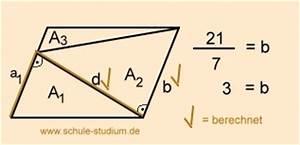 Trapez Seite Berechnen : geometrie fl cheninhalte von vielecken berechnen zerlegung in dreiecke u trapeze ~ Themetempest.com Abrechnung