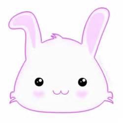 Cute Cartoon Bunny Face