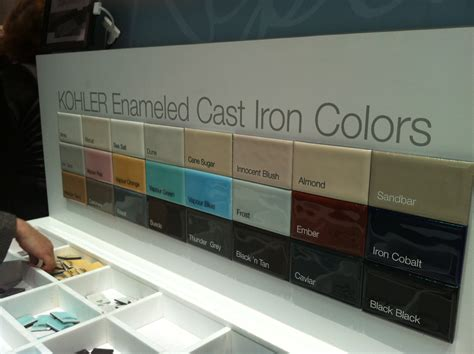 Kohler Enameled Cast Iron Sink Colors by The Best Of The 2012 Kitchen Bath Industry Show Tuttle