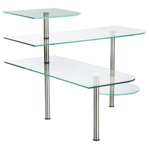 etagere d angle en verre 201 tag 232 re d angle cuisine en verre 35cm transparent