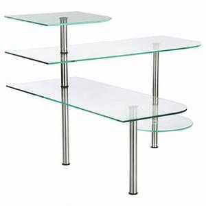 Etagere Angle Cuisine : tag re d 39 angle cuisine en verre 35cm transparent ~ Teatrodelosmanantiales.com Idées de Décoration