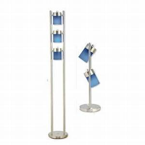 Ore 3 light adjustable floor lamp blue for Ore 3 light adjustable floor lamp