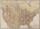 Rand McNally new official railroad map of the United ...