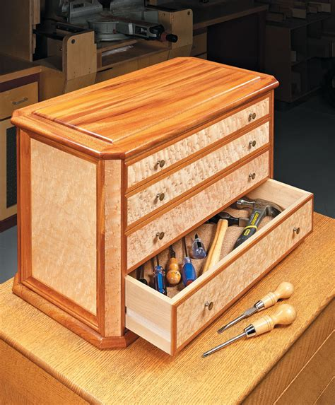 benchtop heirloom tool chest woodworking project