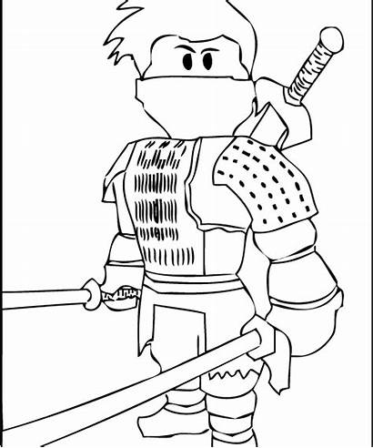 Roblox Coloring Pages Printable Exquisite Getcolorings Robl