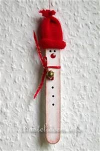 Weihnachtsbasteln Mit Holz : basteln mit kindern weihnachten weihnachtsbasteleien a sager schneemann baumanh nger ~ Udekor.club Haus und Dekorationen