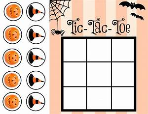 Tic Tac Toe Spiel : halloween tic tac toe printable our potluck family ~ Orissabook.com Haus und Dekorationen