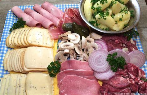 recette de cuisine viande raclette ou pierrade ou les 2