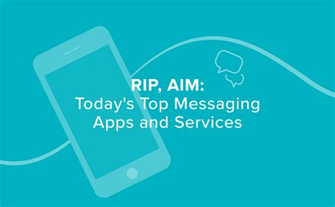aol instant messenger and its legacy on messenger apps