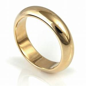 Men39s plain ring idg248 o i do wedding rings for Wedding ring companies
