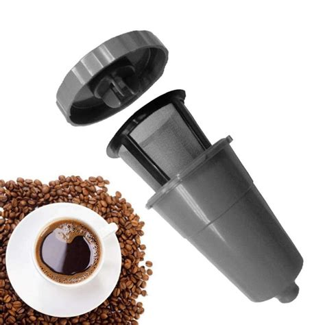 Krups espresso coffee xp1600 filter basket & cup holder portafilter replacement. 2018 New Coffee Filter 1PC Reusable Replacement Coffee Filter Refillable Holder for Keurig My K ...