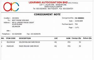 consignment With consignment invoice sample