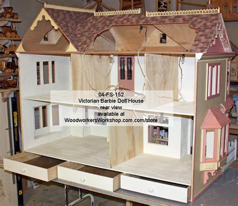 Doll House Blueprints Ideas by 04 Fs 152 Doll House Woodworking Plan